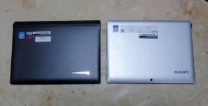 Miix3とMiix320。どちらもリファビッシュPC。