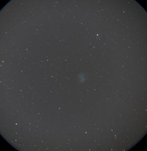 はくちょう座近くの亜鈴星雲(M27)