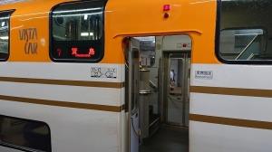 名古屋駅では改札からかなり遠い7号車