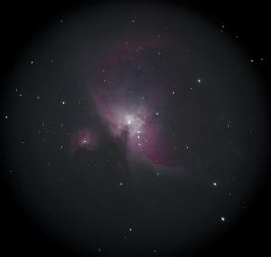 オリオン座大星雲はもう一歩です